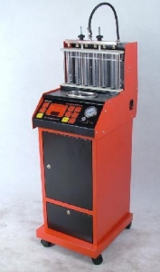 China Fuel injector cleaning machine on sale