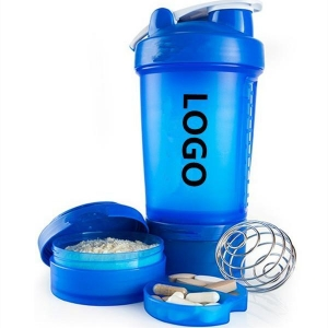China Week's Hottest Quotations 600ml Protein Bottle Blender Shaker Cup Gym Fit Fitness on sale