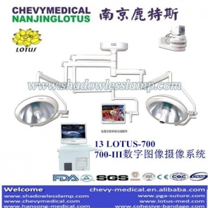 China Surgical Light 13LOTUS700/700-III (VEDIO CAMERA) Operation Theatre Light With Camera system on sale