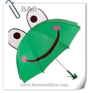 China Cute frog umbrella for children on sale