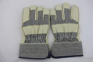 China Quality Leather Split Pig For General Work Leather Porter Rigger Glove on sale