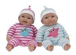 China Jc Toys Lots To Cuddle Babies Twins Dolls by JC Toys on sale
