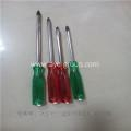 China Hand Tools Plastic Handle Nie Chrome Screw Driver Set Magnetic Tip on sale
