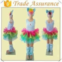 hot sale kids my little pony carnival/halloween costume my little pony dress