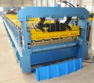 China Trapezoidal Sheet Roll Forming Machine on sale