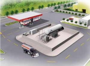 China LNG-LCNG stations on sale