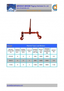 China Casted Ratchet Load Binder Load Binders on sale