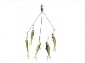 China Alabama rig Popular Alabama Rig Hard Plastic Head Fishing Lure on sale