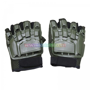 China Other Protector Outdoor Cycling Airsoft Tactical SWAT Paintball Half Finger Gloves on sale