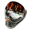 China Protective Mask Red Save Phace Full Face Anti Fog Paintball Mask for sale