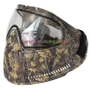 China Protective Mask New Leaf Brown Anti Fog Paintball Mask with Dye I4 Thermal Goggles for sale