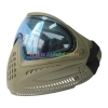 China Protective Mask Olive Tactical Military Anti Fog Paintball Mask with Blue DYE I4 Thermal Lens for sale
