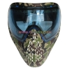 China Protective Mask Camo Tactical Military Anti Fog Paintball Mask with Blue DYE I4 Thermal Lens for sale