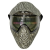 China Protective Mask Grass Green Anti Fog Paintball Mask with Dye I4 Thermal Goggles for sale
