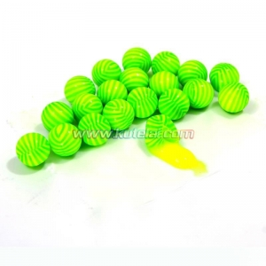Quality 0.68 cal Watermelon Stripe 0.68 inch paintball made with gelatin&PEG for sale