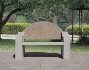 China CURVING PARK BENCH on sale