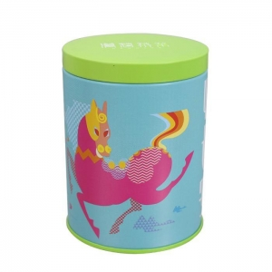 China candy round tin boxes on sale