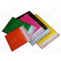 China Colored Fully Laminated Plastic Poly Bubble Envelope Bags Yellow / Green on sale