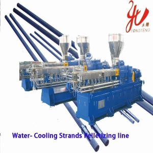 China SHJ series water-cooling strands pelletizing line on sale