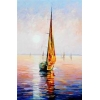 China Modern Reproduction High Quality Ship OilPainting For Decor for sale