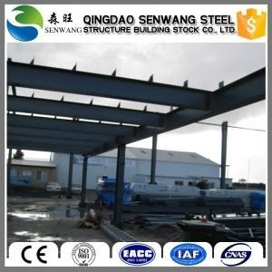 China Steel structure workshop and warehouse Steel structure prefabricated hangar on sale