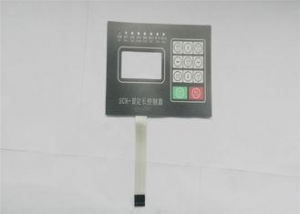China Tactile Membrane Keyboard / Touch Switch CNC Machine membrane switch Panels on sale