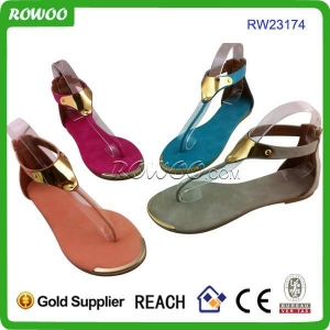China new fashion pu sandals on sale