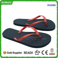 Cheap Promotional Pvc Upper PE Sole Flip Flops(RW29155)