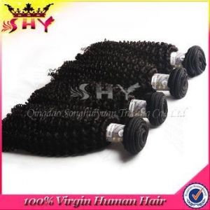 China Brazilian Hair unprocessed kinky curly brazilian virgin human hair afro twist braid hair extension on sale