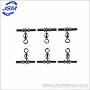China JSM Wholesale Japanese Brass Cross-line Crane Fishing Swivel Fishing Tackle on sale
