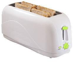 China Toaster 4 Slice Toaster / White (WT-4001A) on sale