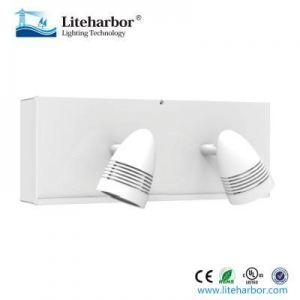 China emergency exit light Twin Heads Rechargeable Battery Backup LED Emergency Lights on sale