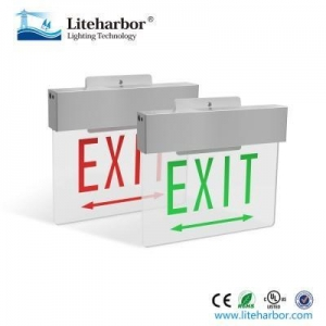 China emergency exit light exit light battery backup on sale
