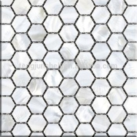 CP3156p pure white freshwater shell mosaic cube 3d instant mosaic
