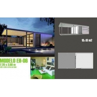 Modern Moveable Accents Holiday Home / Prefabricated Garden Studio For Holiday Living