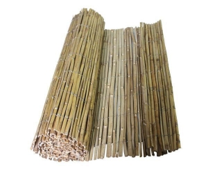 China Split bamboo fence Normal size: 100*300cm 150*300 200*300 100*500 150*500 200*500 on sale