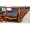 China High Speed Belt Conveyor Rubber Black in Pakistan , Bucket Elevator for sale
