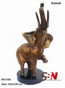 China nimals figures Animal Sculpture SBN-BZA-DK-2128 on sale
