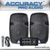 China Speakers 250W Portable PA Sound System For Sale PML15L-608AKIT for sale