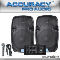 Speakers 250W Portable PA Sound System For Sale PML15L-608AKIT