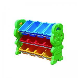 China Kids furniture Kids Plastic Toy Assorting Shelf in Rabbit on sale