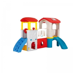 China Indoor playground CE Approved Indoor Plastic Slide and Climber on sale