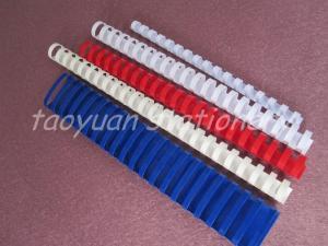 China File Folder Accessories plastic binding comb on sale