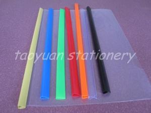 China File Clip pvc file binder strip on sale