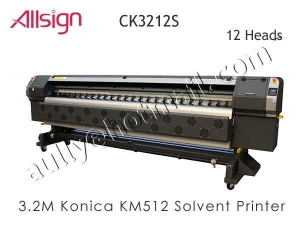 China Konica Solvent Printer CK3212 (12 KM512 printhead) on sale