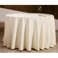 Poly visa table cloth