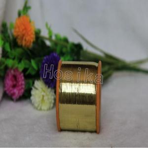 China M Type Metallic Yarns M Type Gold Metallic Yarn for Embroidery M4 on sale