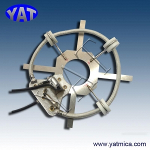 China Thin mica parts Mica heating element on sale