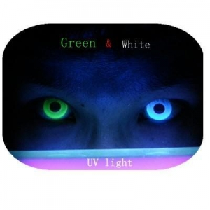 China FreshTone Night vision UV Glow fashion contact halloween costume party fun lenses on sale