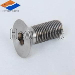 China Ti Countersunk Bolt/Screw titanium countersunk bolts DIN 7991 on sale